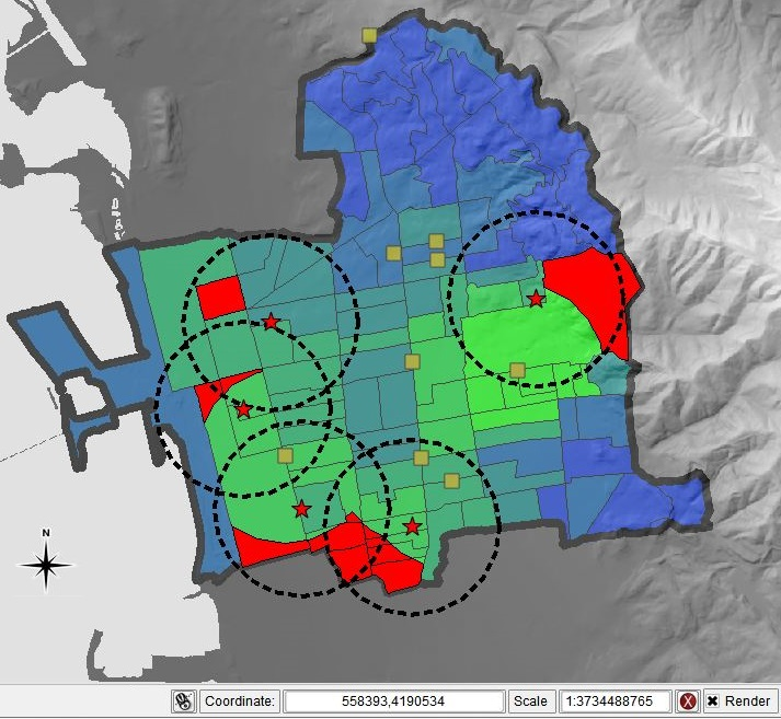 Análisis espacial de datos geográficos empleando QGIS -Quantum GIS- (11 de Abril de 2017)